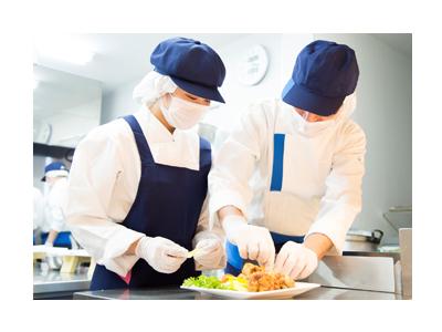 約750カ所の事業所を通じ、食事提供サービスを受託している安定企業です◎
