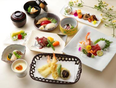 法事・慶事でのご利用の際は、和食を中心としたメニューでおもてなし。