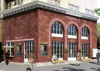 3月OPENの新店『Truffle BAKERY(トリュフ ベーカリー) 広尾』※画像はパースです。