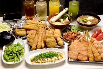 大阪で生まれた伝統の味を受け継ぐ人気の串カツブランド!店長候補として活躍を◎