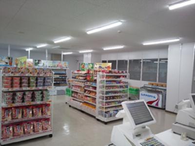 東芝グループ企業内の売店で、販売アルバイトしませんか?(写真は既存店舗です)
