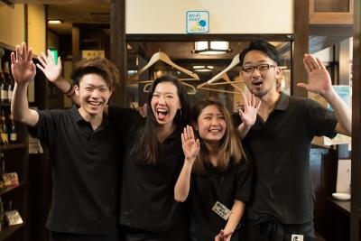 20代のスタッフが中心に活躍する活気あるお店!4月には立川に新店舗をオープン。