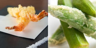 食材にとことんこだわりを持つ弘商。 新鮮な素材を使用した、サックサクの天ぷらをご提供します。
