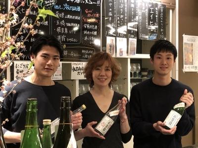 2019年10月にオープンした、日本酒を気軽に楽しめる角打ちスタイルのお店です♪