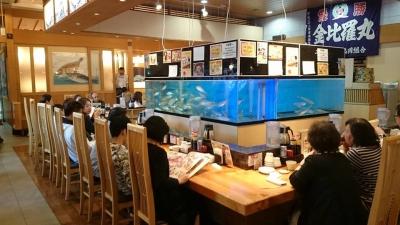 大きな生け簀が特徴の海鮮レストラン。飲食店での勤務経験が活かせます!
