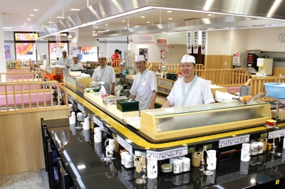 創業から38年以上業歴のある老舗。幅広い客層ニーズをキャッチする回転寿司店です。