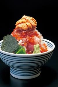 メニューは「ぜいたく丼」のみ!海の幸がてんこ盛りです