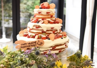 あなたが作ったケーキやデザートがお客様の一生に一度の結婚式でスポットがあたる