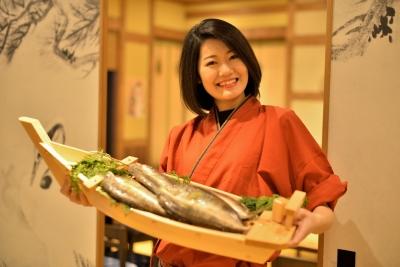 釣った魚をその場でさばいて、お好みの調理法でご提供します