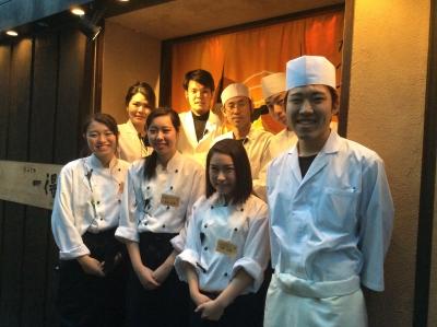 日本全国から厳選した食材を使った創作和食を提供する当店♪おいしいまかないあり◎応募当日に面接OK★