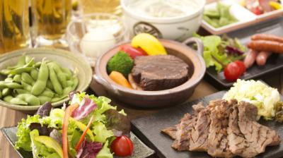コース料理もご用意しており、大切な人との特別な時間をお楽しみいただいております。