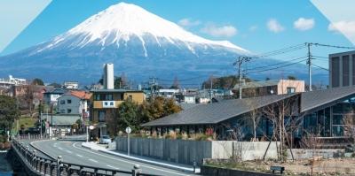 富士山がのぞめるスタイリッシュなお店で一緒にがんばりましょう!