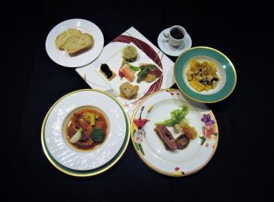 健康を意識したイタリア料理のコースです。