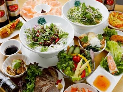 エスニックな風味がクセになる!スープも麺も手作りにこだわった本格ベトナム料理店です。