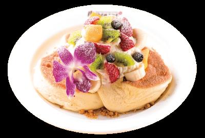川口店は、メレンゲたっぷりのフワフワパンケーキとハワイのコナコーヒーが楽しめるハワイアンカフェです。