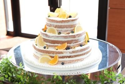 お客さまとの打ち合わせから作り上げるオリジナルケーキが大人気です◎
