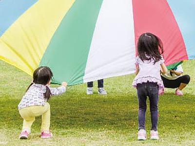 子どもたちの元気な笑顔に囲まれて、毎日楽しく働けます!
