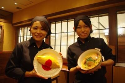 ラーメン店のスタッフ!元気なアルバイトさんたち★(大阪梅田)