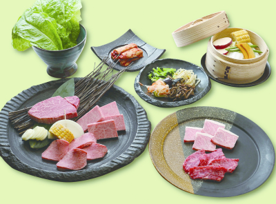 黒毛和牛をはじめ、目利きで仕入れた極上の肉を提供しています。