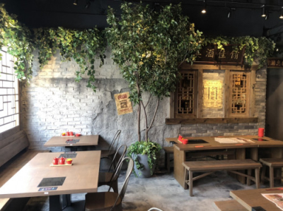 まるで台湾にいるかのような、非日常空間が広がる飲茶バルです。