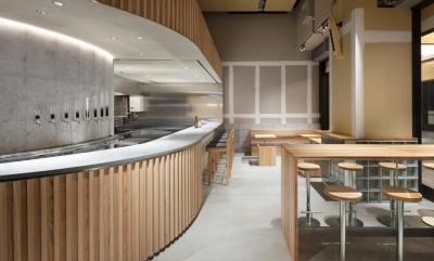 店舗デザインは、有名な建築デザイン会社が手がけました。おしゃれな空間で働けます♪