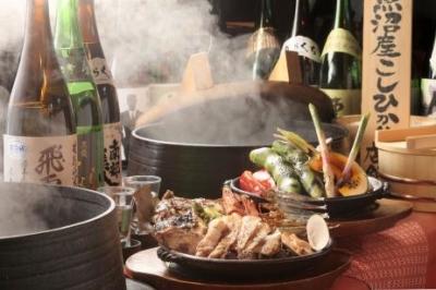九州・沖縄・岩手・北海道など、各店舗でこだわりある各地の郷土料理を中心に和食をメインとした料理を提供
