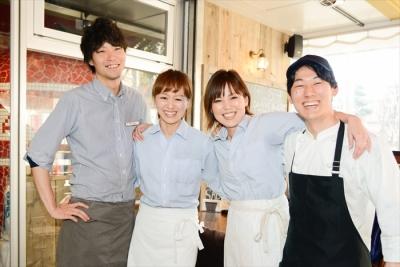 にぎやかで楽しいイタリアンレストラン。私たちと一緒にお店を盛り上げていきましょう!