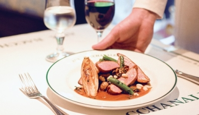 パリのエスプリ漂う、大人が日常使いできるフレンチレストランです。