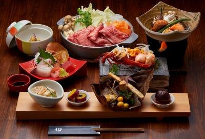 豊後牛、久住高原豚など大分ならではの食材を駆使した和洋料理を提供