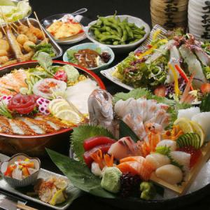 新鮮な鮮魚にこだわった豊富なメニューをご用意。素材に関する知識なども身につけることが可能です。