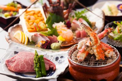 紀州と泉州の間に位置し、海の幸、山の幸と新鮮な食材が豊富なんです。