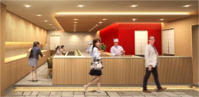 2021年3月開店予定!カウンター10席、テーブル35席を予定。
