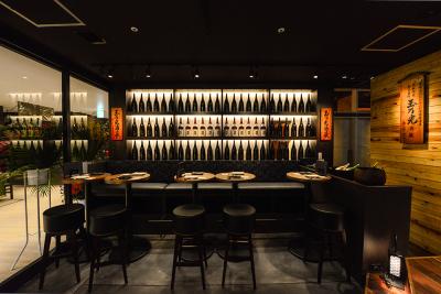日本酒にもこだわりがあり、お店ごとに各酒蔵のお酒を扱っています。