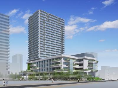 2021年11月、愛知県豊橋市の中心地に「emCAMPUS」が開業予定