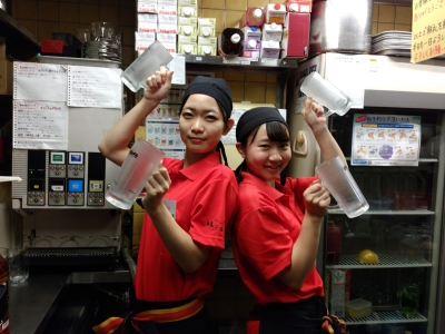飲食店での勤務経験がある方歓迎!未経験の方からのご応募も可能です。