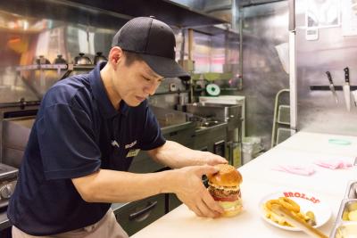 好評をいただくハンバーガー専門店のノウハウをしっかり教えます!