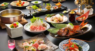 伊豆の山海の幸を贅沢に使った料理の数々を、あなたの手でお届けしてください!