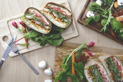 健康的なメニューで「食べること」を楽しむお店