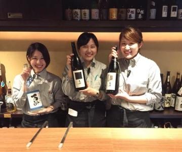 九州の旬の食材を味わえるお店!もちろん焼酎や日本酒の品揃えも豊富です。