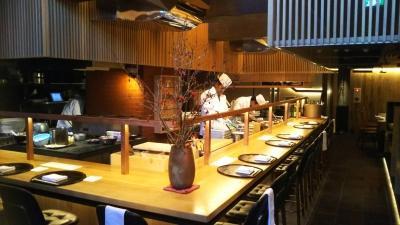 オシャレな和食店で本格的な料理を提供