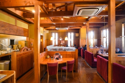 『コメダ珈琲店』のモットーは「街のリビングルーム」。くつろぎの時間を提供しています。