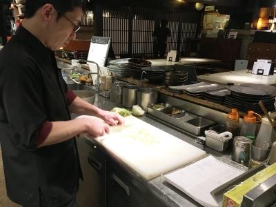 ジャズが流れる大人のための和食居酒屋で、キッチンスタッフを募集します。