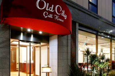 """ステーキレストラン""""Old City Grill House"""""""