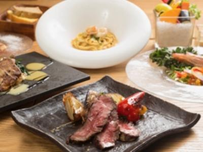 グランツリー武蔵小杉内にある、フレンチとイタリアンを融合した地中海料理レストランです。
