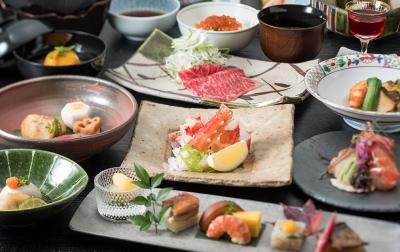 北海道ならではの食材を使った会席料理を提供しています。
