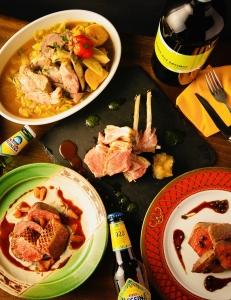 料理のコンセプトは 〝感動〟と〝驚き〟です。