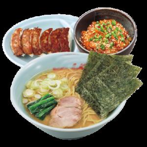 濃厚な豚骨スープや極太ストレート麺のこだわりが好評となり、リピーター続出!