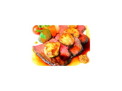 創造性あふれる料理の数々を提供。