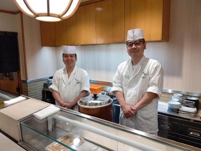 銀座の一等地に店を構える「鮨 萩はら」で一流の寿司職人をめざしませんか?