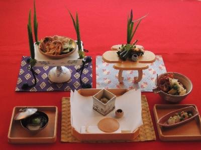 有職料理や京料理をご提供しています